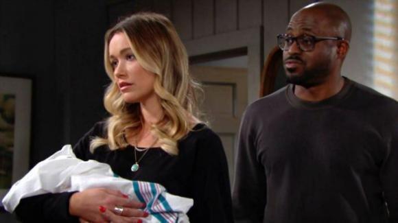 Beautiful, anticipazioni puntata 19 dicembre: Reese vuole dare in adozione la figlia di Hope e Liam