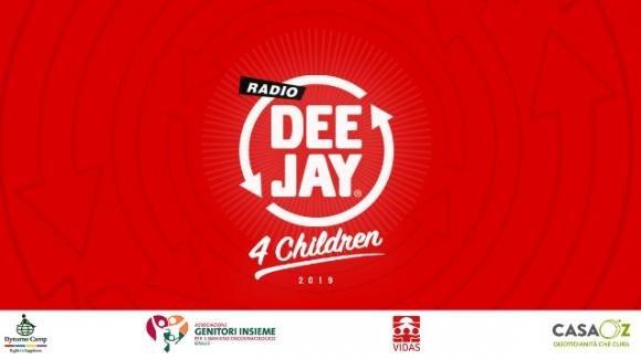 Radio Deejay for Children: oggi in onda per una raccolta fondi