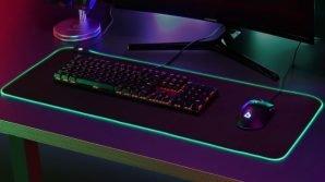 AUKEY KM-P6: mouse pad da gaming retroilluminato