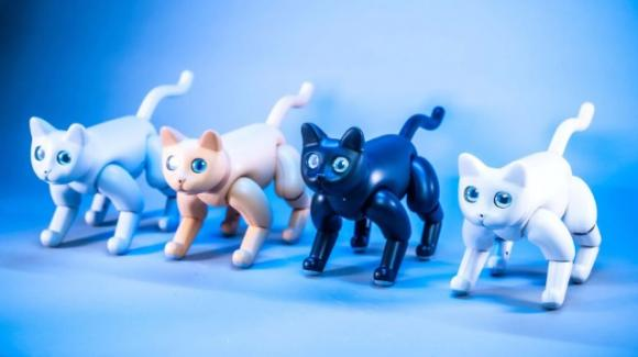 MarsCat: al CES 2020 in esposizione il primo gatto robotico da compagnia