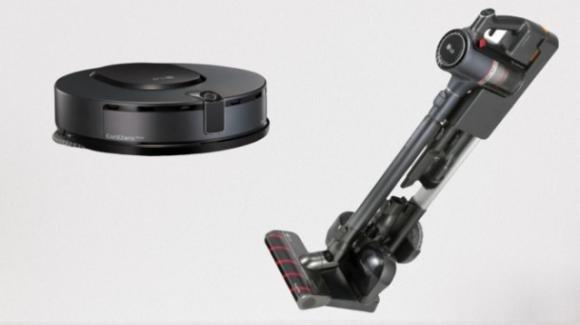 CES 2020: la pulizia si fa smart con gli LG CordZeroThinQ A9 Stick Vacuum e Robotic Mop