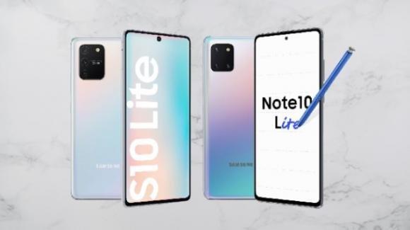 CES 2020, Samsung: ecco i top gamma Galaxy S10 Lite e Note 10 Lite