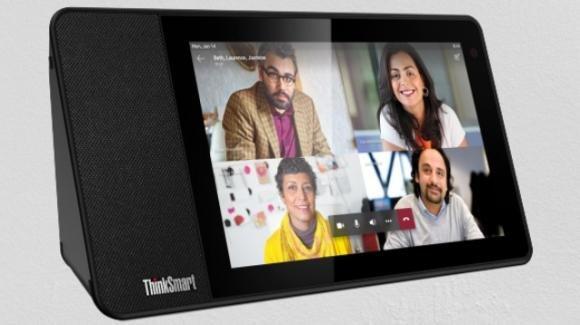 CES 2020: da Lenovo lo smart display professionale ThinkSmart View