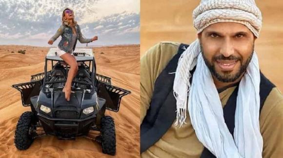 Barbara D'Urso e Jonathan Kashanian: auto in panne nel deserto, a piedi nel cuore della notte