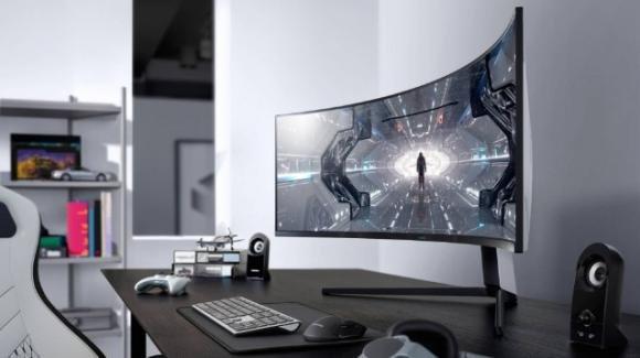 Samsung: dal CES 2020 i display curvi e avvolgenti Odyssey per i gamers
