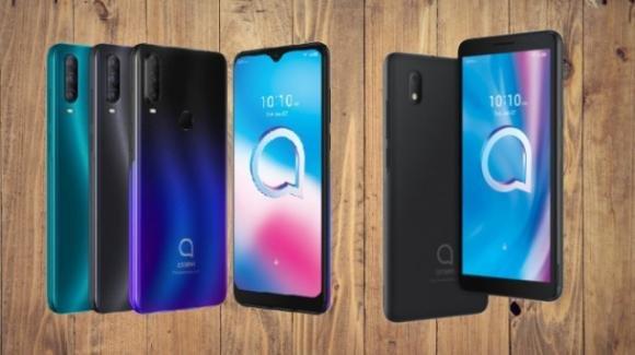 CES 2020: Alcatel schiera un poker di smartphone economici con Android 10