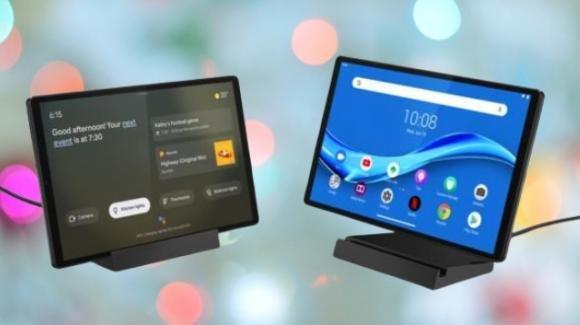 Smart Tab M10 e Smart Frame: al CES 2020 i display smart di Lenovo