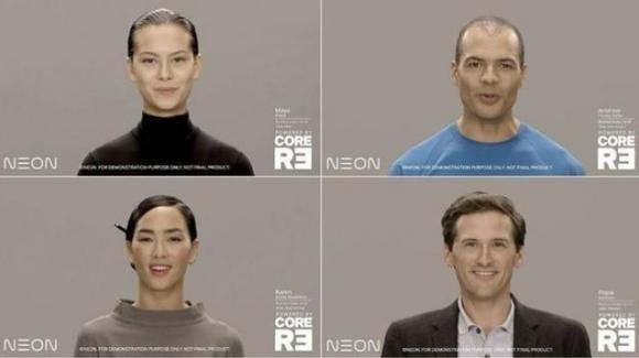 CES 2020: Samsung presenta Neon, il primo essere umano artificiale