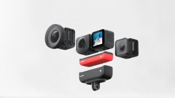 Insta360 ONE R: ufficiale l'action camera modulare con ottimizzazioni Leica
