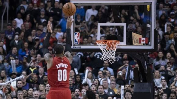 NBA, 7 gennaio 2020: i Trail Blazers vincono all'ultimo contro i Raptors, i Thunder folgorano al supplementare i Nets