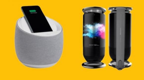 Belkin Soundform Elite e Royole Mirage: dal CES 2020 gli smart speaker eleganti