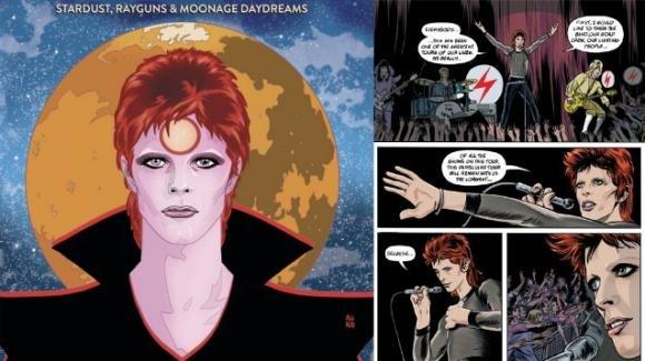 David Bowie, in arrivo una biografia a fumetti per omaggiarlo
