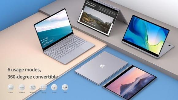 BMAX Y13: in promo il nuovo convertibile ultraleggero, con Windows 10