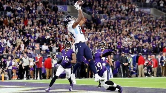 NFL 2019, divisional playoff: Titans immensi, stoppati i favoriti Ravens; tutte le partite del weekend