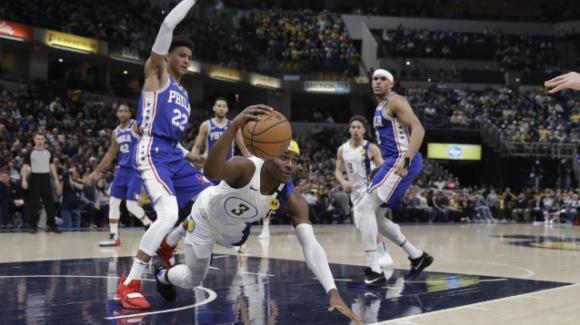 NBA, 13 gennaio 2020: gli Indiana Pacers sottomettono i Philadelphia 76ers, i Lakers battono i Cavaliers