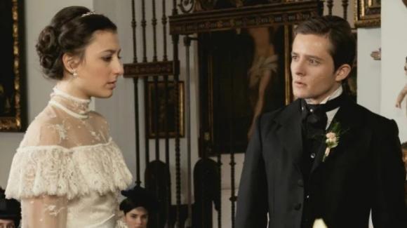 Una Vita, anticipazioni spagnole: Lucia lascia Samuel sull'altare perché ama Telmo?