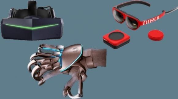 Realtà virtuale e aumentata: ufficiali i device di Pimax, Nreal e Teslasuit