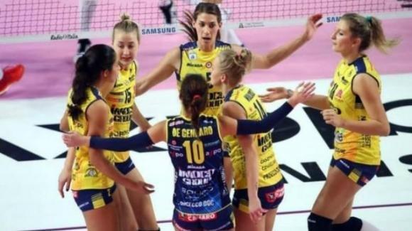 Samsung volley: Monza perde in casa 3-0 contro Conegliano