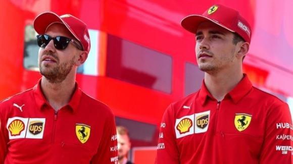 """Gerhard Berger sulla coppia piloti Ferrari: """"Vettel ha dimostrato di poter battere Leclerc"""""""