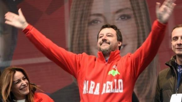 Matteo Salvini pronostica un risultato incredibile per le regionali del 26 gennaio