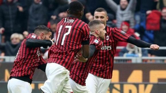 Serie A Tim: il Milan batte l'Udinese al 93′. Rebic protagonista