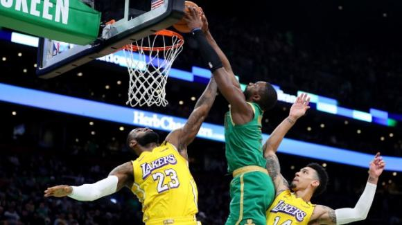 NBA, 20 gennaio 2020: i Celtics passeggiano sui Lakers, i Jazz distruggono i Pacers