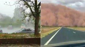 Australia, sabbia e grandine prendono il posto degli incendi: è di nuovo allarme