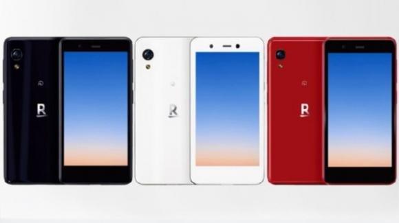 Rakuten Mini: ufficiale lo smartphone palmare compatto con eSIM e Android 9