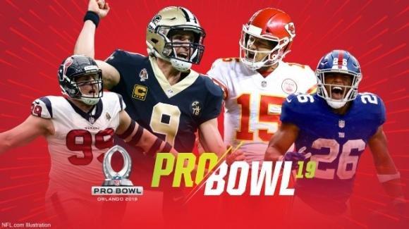 NFL 2019, Pro Bowl: l'AFC batte la NFC in un incontro spigoloso e combattuto