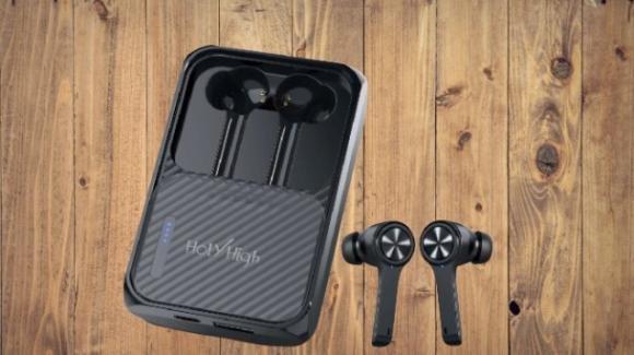HolyHigh TWS: ecco gli auricolari true wireless con custodia multi-funzione