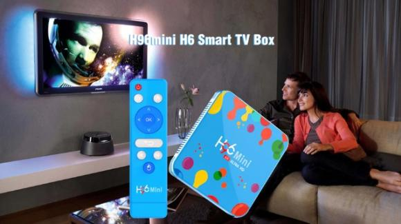 H96 mini H6: disponibile il set-top-box per smartizzare la TV con Android Pie