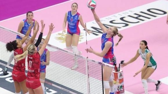 Coppa Italia volley femminile: Busto Arsizio vince 3-0 contro Monza