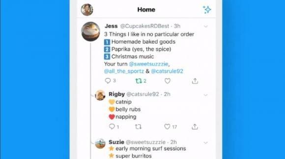 Twitter: il roll-out su iOS la visione semplificata delle discussioni