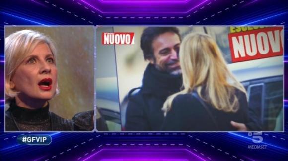 """GF Vip, Antonella Elia scopre il presunto tradimento del compagno: """"Brutto disgraziato"""""""