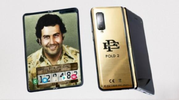 Escobar Fold 2: ufficiale il nuovo smartphone pieghevole di Pablo Escobar