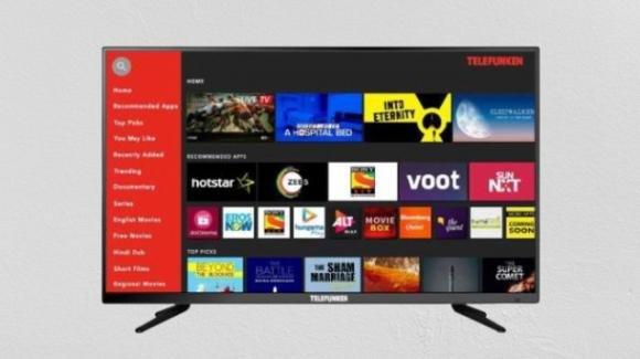 Telefunken TFK32QS: in commercio la smart TV low cost con HD Ready
