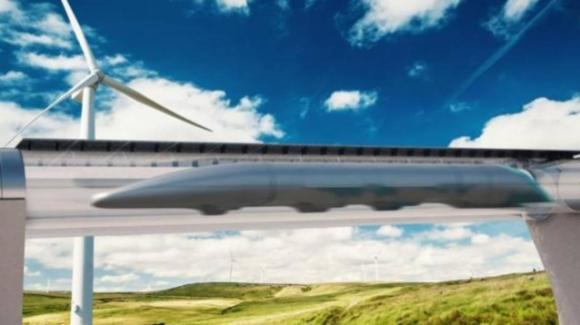 Arriva in Italia Hyperloop, il treno che viaggerà a 1.200 km/h