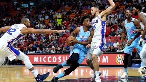 NBA, 3 febbraio 2020: i Miami Heat annullano i Philadelphia 76ers, i Mavericks vincono contro i Pacers