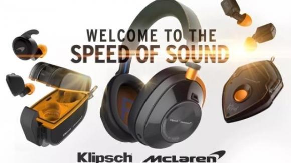Ecco le cuffie e gli auricolari wireless Klipsch Audio targati McLaren Racing