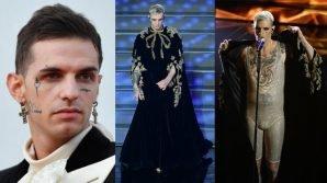 Sanremo 2020: Achille Lauro spiega il motivo del suo outfit