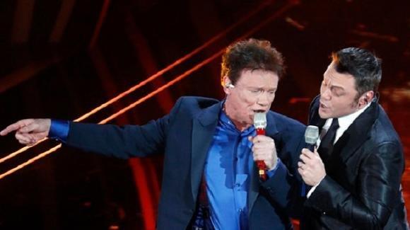 """Sanremo 2020, Tiziano Ferro e Massimo Ranieri incantano. E' standing ovation per """"Perdere l'amore"""""""