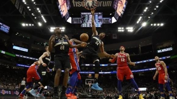 NBA, 6 febbraio 2020: straordinari Bucks, piegati pure i 76ers, i Rockets vincono sul campo dei Lakers
