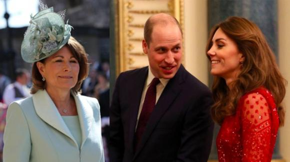 William, Kate e l'ottimo rapporto con Carole Middleton
