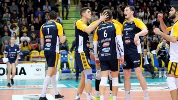 Superlega volley: Verona batte Vibo Valentia 3-1