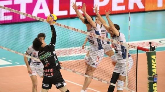 Superlega volley: Padova perde 2-3 in casa contro Trento