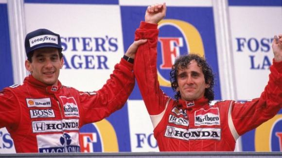 """Alain Prost sulla sua storica rivalità con Ayrton Senna: """"Alla fine eravamo diventati amici"""""""