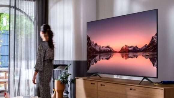 Samsung QLED Q70T: da ISE 2020 la smart tv UHD con LED Edge