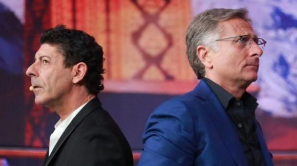 Aria di crisi tra Paolo Bonolis e Luca Laurenti