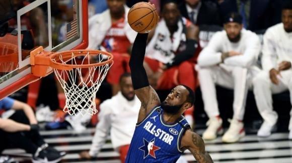NBA, All-Star Game 2020: torna una vera partita delle stelle, il team LeBron vince di misura