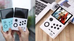 Supretro: in commercio la consolle palmare, multipiattaforma, in stile GameBoy